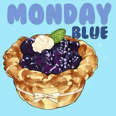 Monday blue by Le Delicatessen  https://www.facebook.com/ledelicatessen.creation
