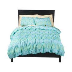 Blue/green duvet set. $19.99 and up at Target.