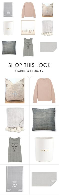 """9 things.."" by sarahswansondesign ❤ liked on Polyvore featuring interior, interiors, interior design, home, home decor, interior decorating, Vince, Nordstrom, Magnolia Home and Current/Elliott"