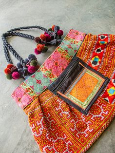 Hey, I found this really awesome Etsy listing at https://www.etsy.com/listing/156680710/hmong-embroidered-bag-hippie-boho-ethnic
