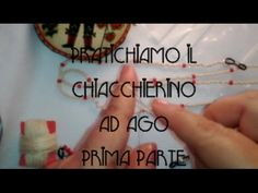 Let& practice the tatting: Lanyard for glasses before .- Pratichiamo il chiacchierino: Laccetto per gli occhiali prima parte. Here is my first video creations: the strap for the glasses. Project first part - Glasses Outfit, Tatting Tutorial, Womens Glasses, Crate And Barrel, Let It Be, Projects, Hobby, Shibori, Jewels