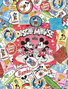 Mickey Mouse Vintage Wallpaper And Minnie