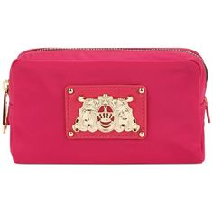 Juicy Couture Handbag, Small Nylon Cosmetic Case found on Polyvore