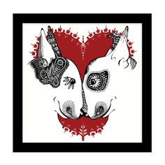 Bullie Printmakers | English Bull Terrier Cushion Cover Christmas Special