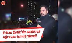 Erhan Çelik'de Hollanda'da saldırıya uğrayan isimlerdendi #erhançelik #hollanda #saldırı #video