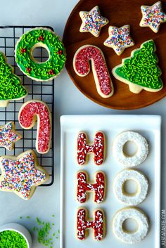 The Best Cutout Sugar Cookies from @Kelly Teske Goldsworthy Senyei | Just a Taste #recipe