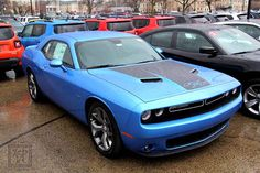 2nd Generation 2015 B5 Blue Dodge Challenger. My next new car!  By: Kevin P. (KJP Photography)