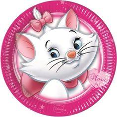 Disney Marie (Aristocats) 8 PAPER PLATES - 23cm (Party/Birthday/Disney) in Party Tableware & Serveware | eBay