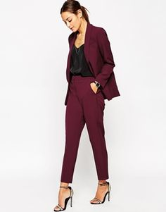 ASOS Premium Clean Tailored Pant
