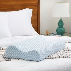 Get ready to swoon... Our Gel Contour Memory Foam Pillow has a new, improved design and is as dreamy as ever! 😍 Complete with a breathable cover, cooling gel, and a design that will keep your head, neck, and spine aligned. Memory Foam, Knee Pillow, Pregnancy Pillow, Best Pillow, Home Decor Accessories, Minimalist, House Design, Blanket, Pillows