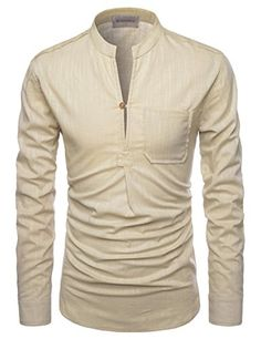 NEARKIN (NKNKN351) Henley Neck Light Weight Chinese Colla... https://www.amazon.com/dp/B01ELIF2RM/ref=cm_sw_r_pi_dp_x_.0lYybDH7CTGE