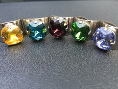 A personal favorite from my Etsy shop https://www.etsy.com/listing/181049104/swarovski-crystal-adjustable-ring