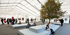 Looking forward to Frieze art fair, one of my favourite art fairs.. Be sure to wrap up!