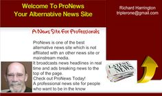Welcome To The ProNews Headlines Sign up free today.  http://www.promotionmarkets.com/pronewonline.htm
