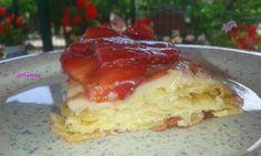 Vamos a cocinar con Yoli e Inés: Pastel de hojaldre con frutas ( crema pastelera co...
