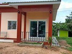 บ้านชั้นเดียว สไตล์โมเดิร์น ขนาด 2 ห้องนอน งบ 550,000 บาท Modern House Philippines, House Plans, Pergola, Outdoor Structures, Outdoor Decor, Home Decor, Decoration Home, Room Decor, Outdoor Pergola