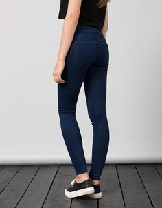 BSK push up jeans. Discover this and many more items in Bershka with new products every week