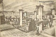 São Paulo - Avenida Paulista (Trianon - Hall) - 1916 - Ed. Luiz Rosatil - Trianon - 1916 - Onde hoje é o MASP