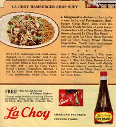 My mom makes this -- it's very good served with rice and chow mein noodles.