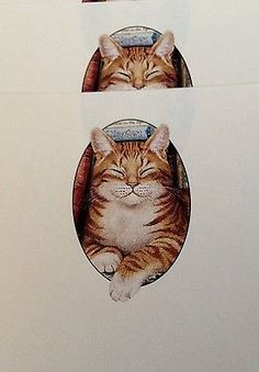 A5-Writing-Paper-Beautiful-Ginger-Cat-design-20-sheets-FREE-POSTAGE