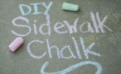Moncton Coupon Lady: Summer Fun: DIY Sidewalk Chalk