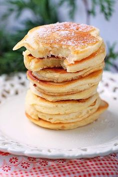Pancakes, Good Food, Breakfast, Recipes, Morning Coffee, Pancake, Ripped Recipes, Healthy Food