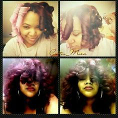 Curlformers on natural hair!
