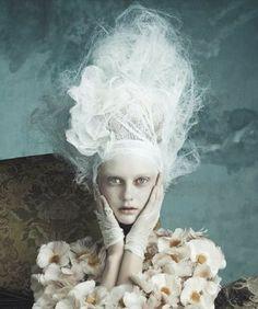⍙ Pour la Tête ⍙ hats, couture headpieces and head art - netting | Dolce & Gabbana