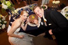 Sailor Bear Cake @ Wedding // #Baylor