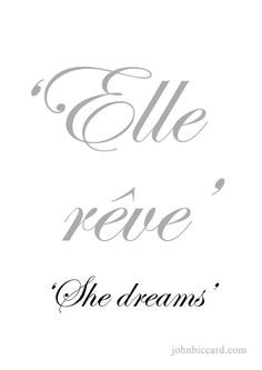 ♔ 'She dreams'