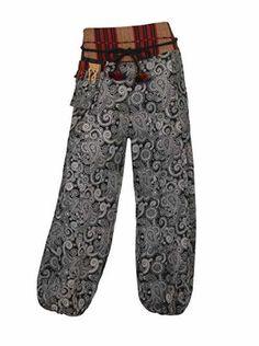 Aladdin Pantalones Bordado En La Cintura  Ofertas especiales y promociones  Caracteristicas Del Producto: Vendedor de Reino Unido Talla única. Todos pet