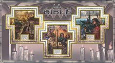 Republic of Guinee 2011 Stamp, GU11308A Bible, Religion, Old & New Testaments I