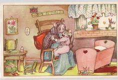 Nelly Donker, muizen familie