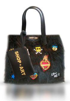 ECO FUR BAG #shopart #new #bag #collection #adorage #style #fallwinter15 #collection #newyork #woman #shopartonline #shopartmania