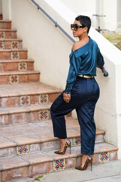Diva Fashion, Look Fashion, Fashion Outfits, Womens Fashion, Fashion Trends, Style And Grace, Style Me, Velvet Pants, Swagg