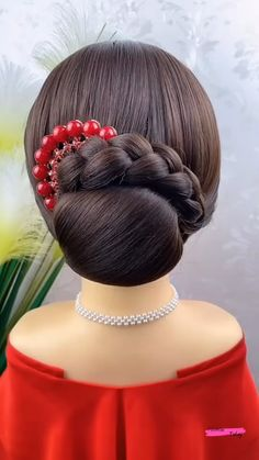 Hair Tutorials For Medium Hair, Curly Hair Styles Easy, Hair Up Styles, Medium Hair Styles, Natural Hair Styles, Ponytail Styles, Hairstyle Tutorials, Braided Ponytail, Hairdo For Long Hair
