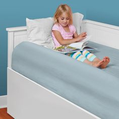 AmazonSmile : Toddler Bed Rail by The Shrunks | Inflatable Safety Bed Rails for Toddlers for Travel or Home Use | Single Bed Side Rails : Childrens Bed Safety Guards : Baby