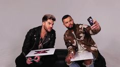 Adam Lambert and Guy Sebastian  Judges on XFactor