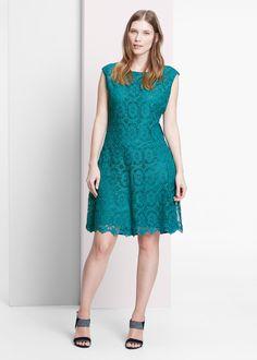 Guipure jurk