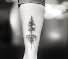 Tree and Roots tattoo by Alessandro Capozzi Awesome black and grey realistic tattoo style of Tree and Roots motive done by tattoo artist Alessandro Capozzi Giving Tree Tattoos, Maple Tree Tattoos, Tree Roots Tattoo, Botanisches Tattoo, Piercing Tattoo, Back Tattoo, Tattoo Quotes, Side Tattoos, Body Art Tattoos