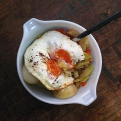 a warm hug in cabbage form: stove-top braised green cabbage with apples