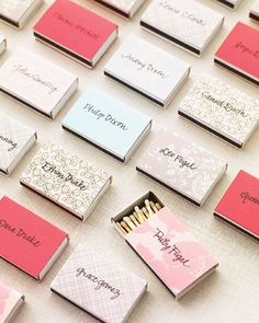 See The Organizing Escort Cards For Guests With Different Last