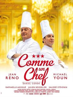 ♥ ♥ ♥ COMME UN CHEF aka THE CHEF (2012) - French: A veteran chef faces off against his restaurant group's new CEO, who wants the establishment to lose a star from its rating in order to bring in a younger chef who specializes in molecular gastronomy. Not a cinematic masterpiece, but a definate feelgood.