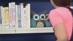 Delightful & Easy to Make Owl Bookends! | DIY Joy Projects and Crafts Ideas