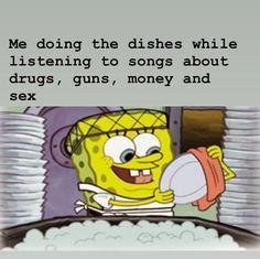 99 Funniest Memes of This Year Funny Spongebob Memes, Stupid Funny Memes, Spongebob Squidward, Funniest Memes, Hilarious Stuff, Spongebob Squarepants, Metal Songs, Funny Black Memes, Humor
