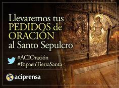 Llevaremos tus intenciones de oración a Tierra Santa por viaje del Papa Francisco