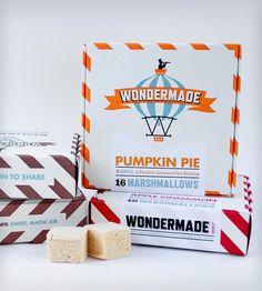 Fall Marshmallow Gift Set - Coffee, Apple Cinnamon & Pumpkin Pie