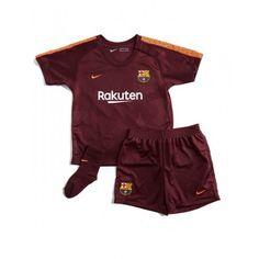 Barcelona Tredje trøje Børn 17-18 Kort ærmer #Billige Fodboldtrøjer