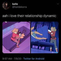 Me Adora, I Ship It, She Ra Princess Of Power, Cartoon Crossovers, Fanart, Adore You, Cute Gay, The Last Airbender, Anime Shows