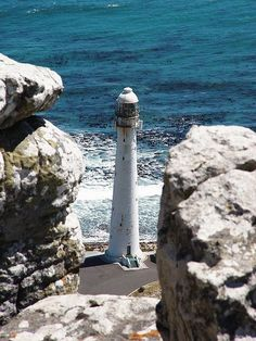 Slangkoppunt Lighthouse, Kommetjie, Cape Town, South Africa